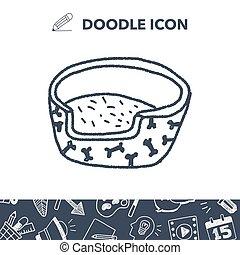 doodle dog bed