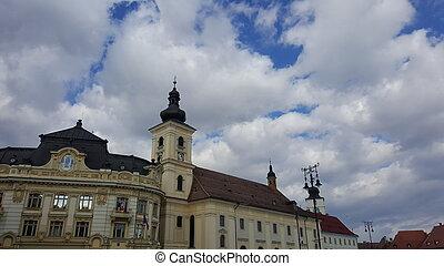 Historic architecture in Romania