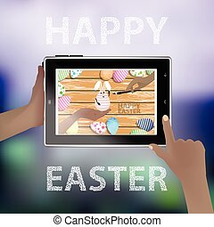 Easter vector. Illustration for your design