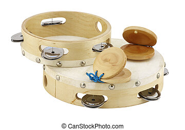 Tambourines, Castagnettes
