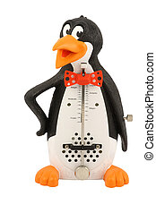 penguin shaped metronome - The image of penguin shaped...