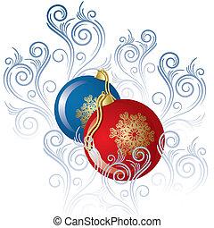 Two spheres