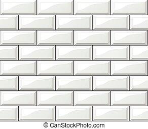white tiles background - Illustration of white tiles...