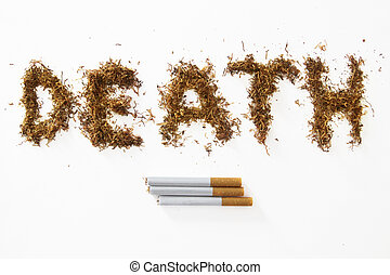 death made of tobacco