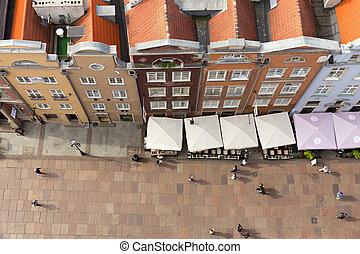 Gdansk Poland - GDANSK, POLAND - AUGUST 21, 2014: View on...
