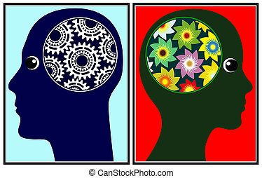 Seeing the World differently - The brains of men and women...