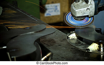 Welding Industrial Concept