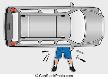 Amateur Mechanic - Car owner is attempting to do his own...