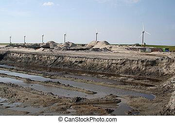 Construction of the new port called Beatrixhaven - Aanleg...