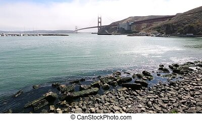 Golden Gate Bridge Sausalito - Landscape of Golden Gate...