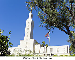 Mormon Temple, Los Angeles - The Los Angeles California...