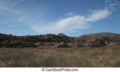 Wichita Mountains - This is a video of landscape and...