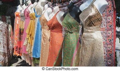 Saris. - Saris outside a dress shop in Kensington Market,...