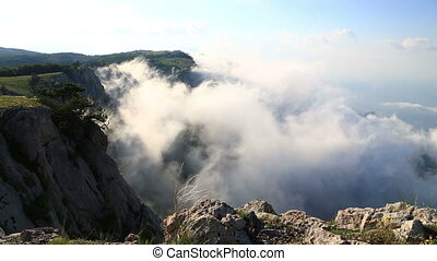 view from Ai-Petri mountain , Crimea