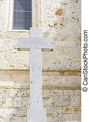 Cross, Holy Week in Spain, images of virgins and representations of Christ, scenes of faith in churches and temples of worship of Christendom