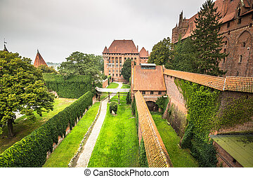 The Castle Malbork in Poland