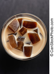 Coffee with jelly