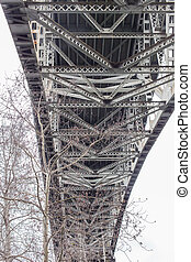 Underside of Aurora Bridge - Seattle