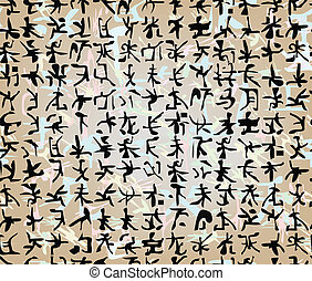 Japanese writing - The Japanese writing