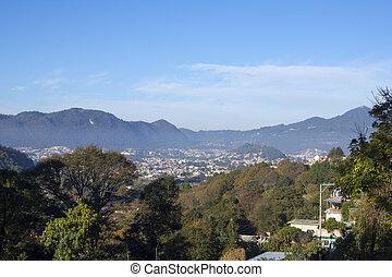 Valley of San Cristobal de las Casas, Chiapas - Wide angle...