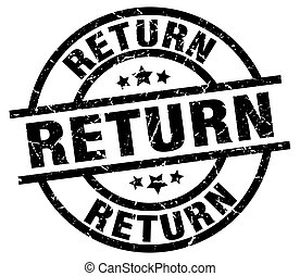 return round grunge black stamp