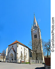 Turda Calvinist Reformed Church - Turda town Romania...