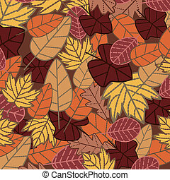 abstract autumn background vector illustration