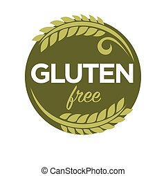 Gluten free substance in cereal grains, elastic texture of...