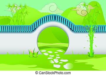 China Home Wall Architecture Building Vector