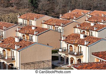 Modern cottages for rent in summer resort - New modern...