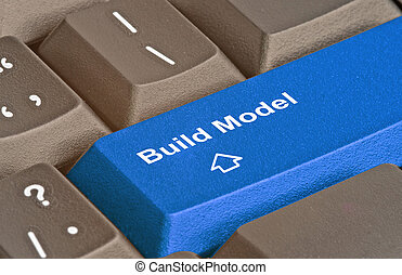 keyboard for model building