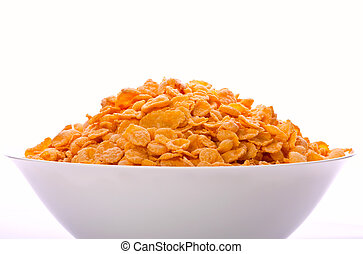 Goldish corn flakes Macro with extremely shallow dof...