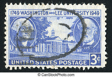 stamp - UNITED STATES - CIRCA 1949: stamp printed by United...