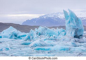 Jokulsarlon lagoon Iceland