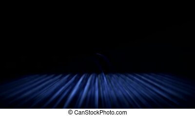 abstract blue grid ray and light,fiber optic,web tech...