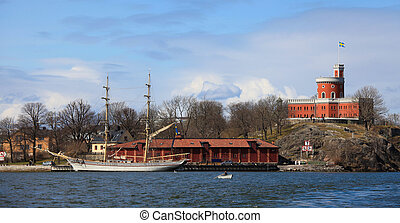 Kastellet is a small citadel located on the islet...