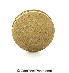 Macaron coffee flavour biscuit dessert