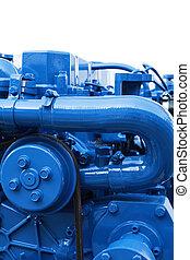 Marine Diesel Engine - Brand new marine diesel engine from a...