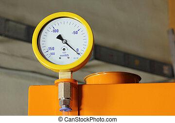 industrial high pressure gauge meters
