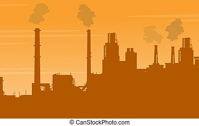 Pollution industry bad environment collection
