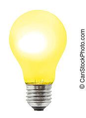Yellow lighting lamp