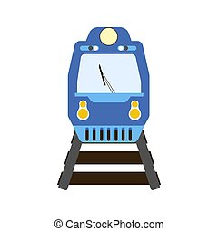 Train illustration vector