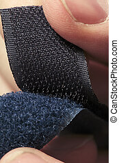Velcro - Hook-and-loop fastener aka velcro in closeup