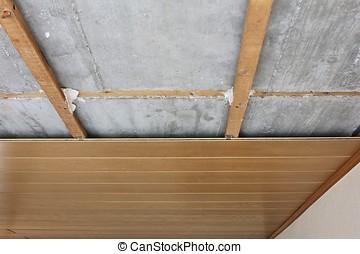 ceiling panels - assembling / disassembling of ceiling...