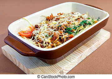 Spaghetti Pasta Bolognese - Spaghetti pasta Bolognese with...