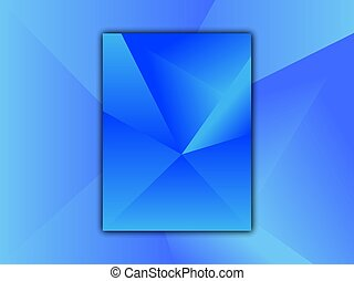 Mosaic blue background. - Mosaic blue background, vector...