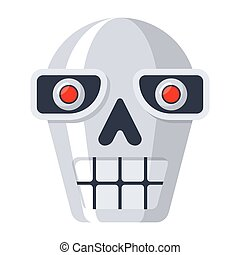 Robot Head Icon