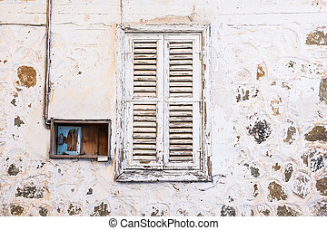 Old residential window