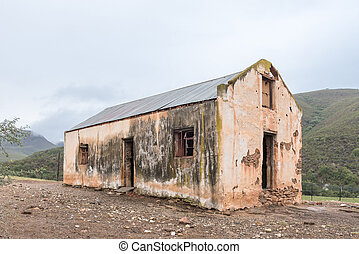 Ruin of an old building on the Oude Muragie road - The ruin...