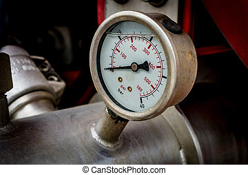 Water pressure gage - Image of Water pressure gage